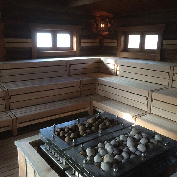 Modernisierung einer Saunaeinrichtung
